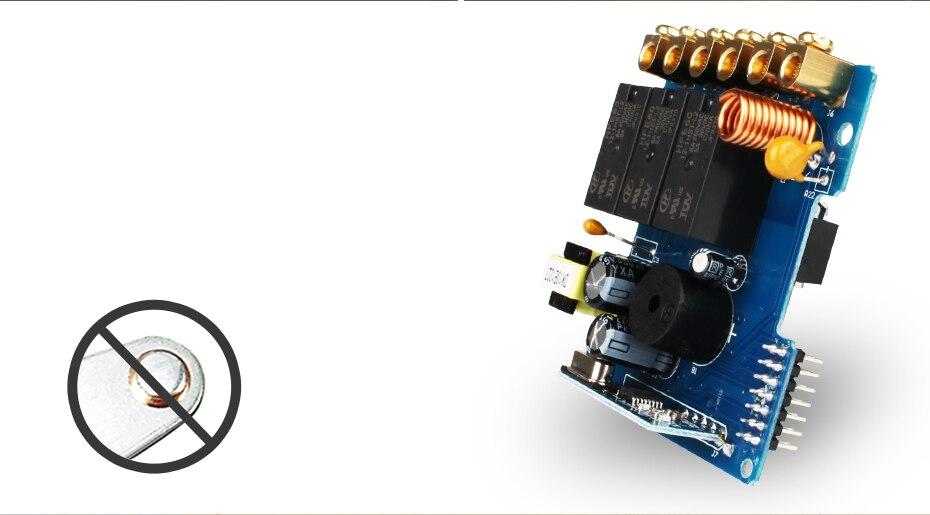 Livolo UK Стандартный беспроводной переключатель с дистанционным выключателем, сенсорный беспроводной переключатель, с пультом дистанционного управления, AC 220-250 В, C301R-61 и RMT-02