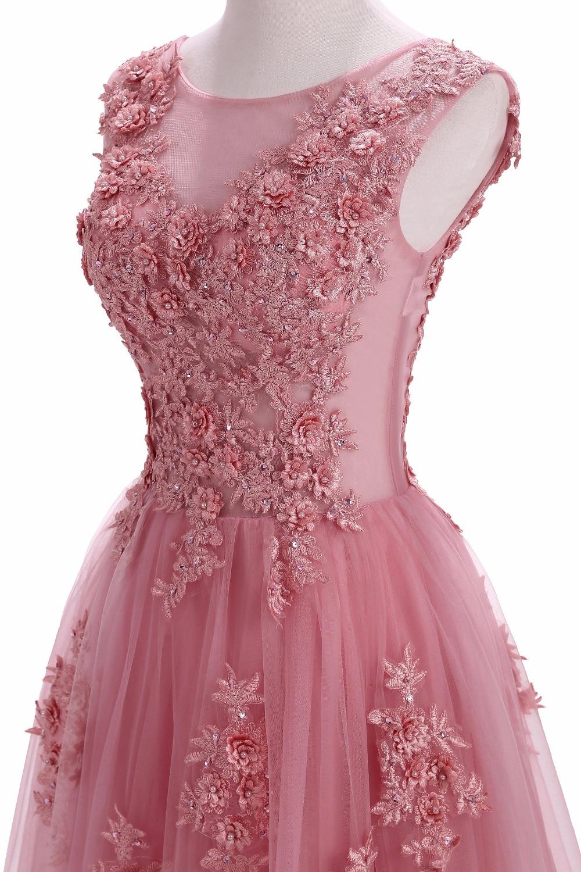 Szata De Soiree Suknie Wieczorowe Długi Plus Rozmiar Tiulu Prom Lace - Suknie specjalne okazje - Zdjęcie 5