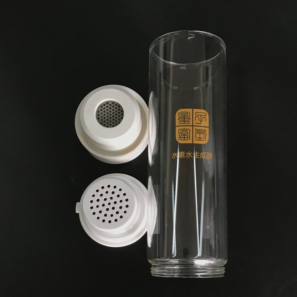 MRETOH 7.8Hz Rechargeable Rich Hydrogen Water Generator electrolysis Energy Hydrogen-rich water cup With Acid water cavity