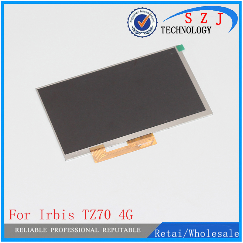 New 7'' inch LCD display For Irbis TZ70 4G Hit TZ49 Irbis TZ56 Tablet inner TFT LCD Screen Panel Lens Module Glass Replacement for 7 inch tablet lcd display wjws070087a fpc lcd screen module replacement 30 pin lwh 164 97 2 5mm