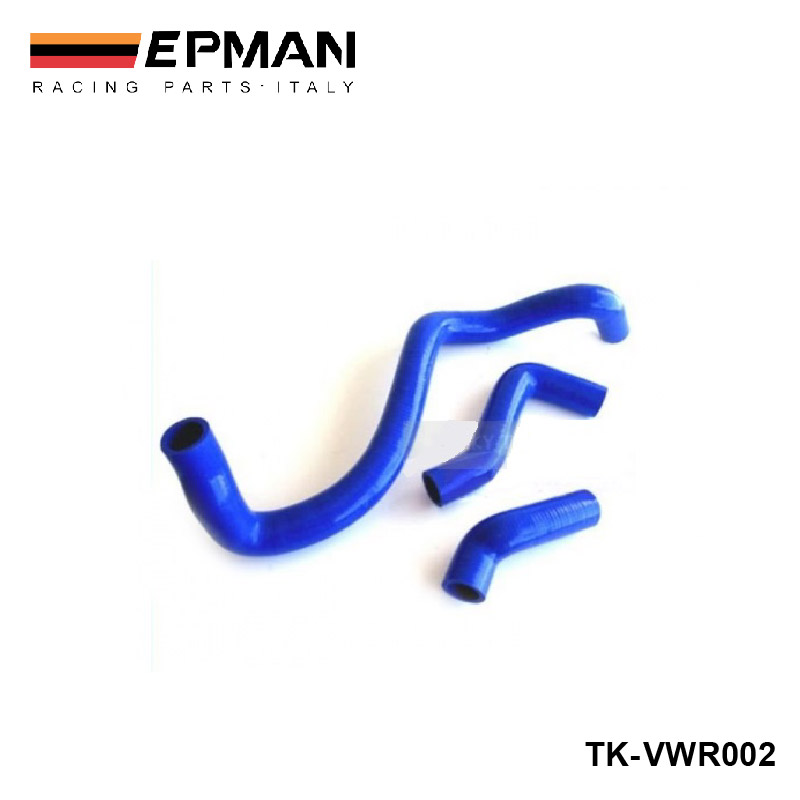 Silicone Intercooler Induction Intake Turbo Radiator hose kit For VW Bora / Golf Jetta IV 1.8T 99 - 05 (3pcs) EP-VWR002