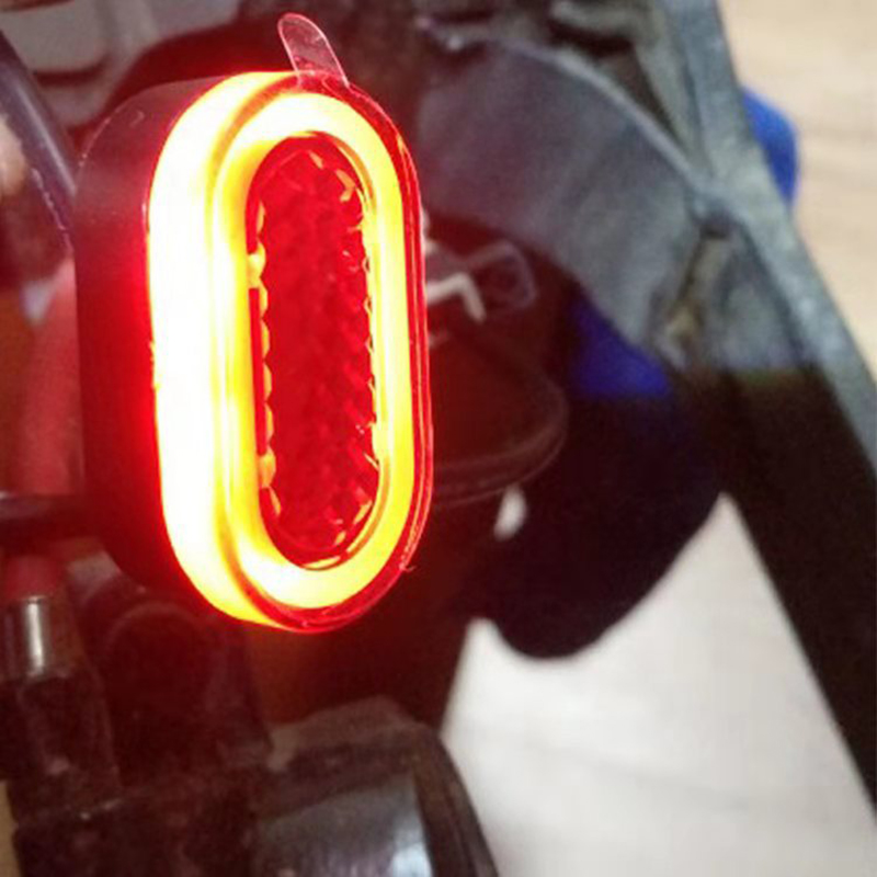 LED Tail Rear Light Replaces For Electric Scooter Safety Lamp Bicycle Taillight And HeadlightLed Rechargeable Lamp in Portable Lanterns from Lights Lighting