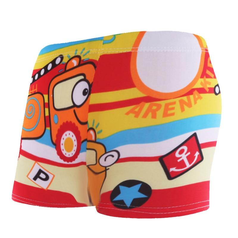 Cartoon Swimming Trunks Kids Swim Trunks Baby Boys Bathing Suit Children Beach Wear Boys Summer Board Shorts Swimwear in Shorts from Mother Kids