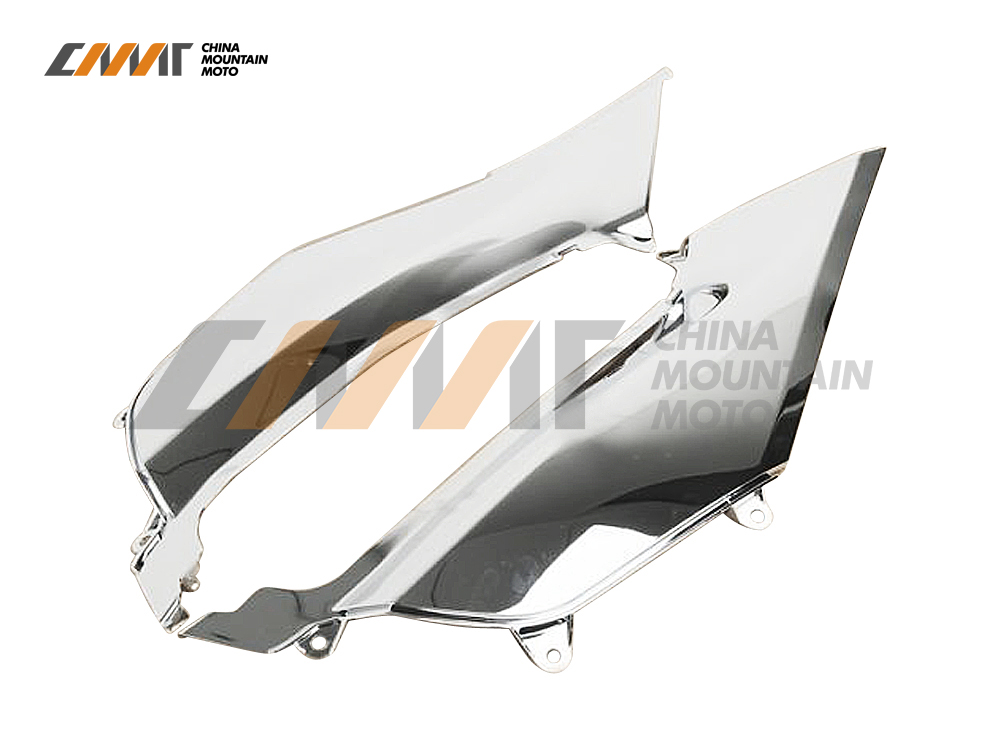 ABS Chrome Mid Frame Cover Fairing case for Honda Goldwing GL1800 GL 1800 2012-2015 nitro triple chrome plated abs mirror 4 door handle cover combo