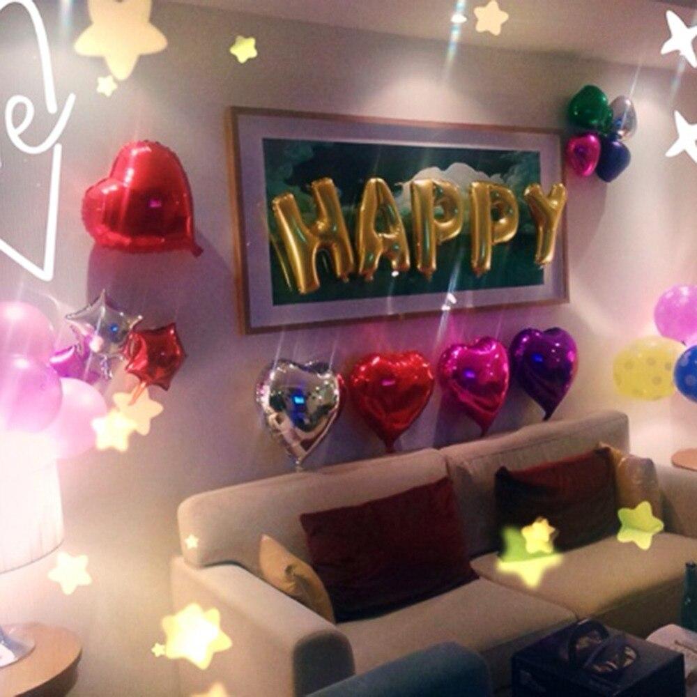 tienda online lindo oro alfabeto cartas globos del feliz cumpleaos partido decoracin membrana de papel de aluminio ballon ventas al por mayor aliexpress