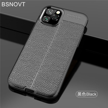 For Cover iPhone 11 Pro Case Soft Silicone Shockproof Leather Bumper 5.8 BSNOVT
