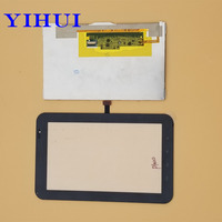 YIHUI For Samsung Galaxy Tab P1000 LCD Display Touch Screen Digitizer Glass Panel Replacement Part White