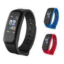 TLWTB1p 1Plus Warna Layar Smart Band Tekanan Darah Monitor Denyut Jantung Tahan Air Pedometer Sport Gelang Multilanguages(China)