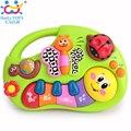 Brinquedo Máquina de Aprendizagem da criança com Luzes, Canções da música, aprendizagem histórias e mais, instrumento musical do brinquedo huile toys 927 baby toys