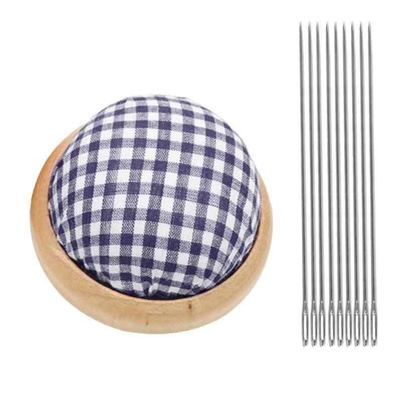 Naaien Kit Naald Pin Kussen met 25 stuks Naalden Set DIY Handwerk Tool voor Kruissteek Naaien Borduren Gereedschap