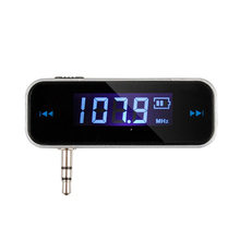 Mini Car MP3 Player FM Transmitter 3.5mm For Universal Music Audio FM Electronic 3.5mm Fit in iphone ipad Android Device