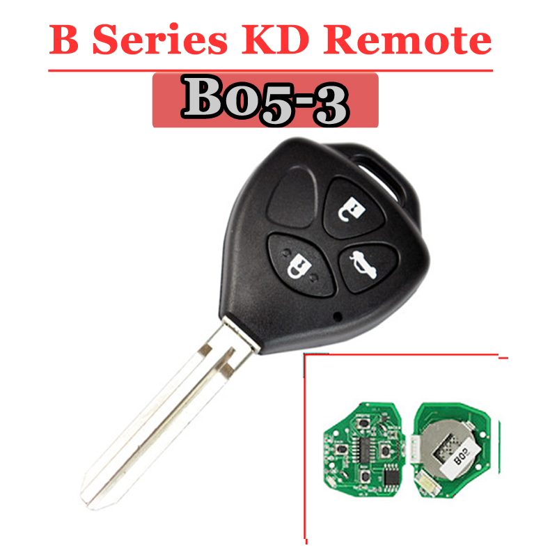 Free shipping (1 piece)B05-03 KD remote 3 Button B series key for kd900 urg200 remote master все цены