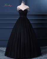 Dream Angel Sexy Backless Short Sleeve Ball Gown Prom Dresses 2017 Scoop Neck Beading Sashes Pleat