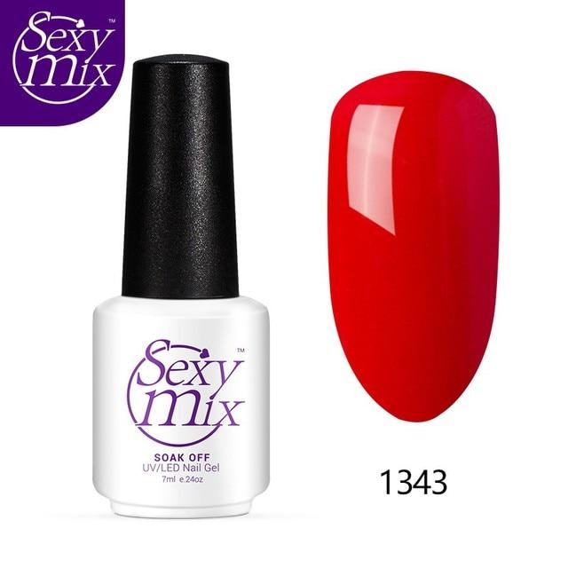 Sexy mix 7ML Natural UV Gel Nail Polish Vegan Ingredients Safe ...