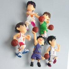 Cherry blossoms Cartoon series anime characters Slam Dunk 3D fridge magnets Toy Figures Refrigerator Children Gift