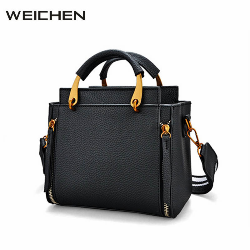Bags Handbags Women Famous Brands Black PU Leather Flap Bags Shoulder Bag Female Women Messenger Bags Sac A Main Ladies Totes