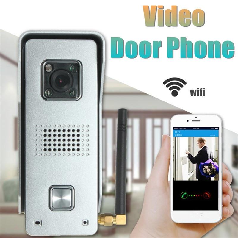 ФОТО WiFi Video Door Phone 2.4G Metal Doorbell  Support Wireless Unlock Night Viewing&Water&Humidity Proof