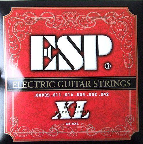 ESP GS-6XL Electric Guitar Strings EXTRA LIGHT .009 - .042