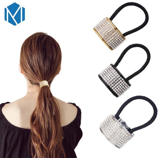 Hair Rope Elastic Crystal Rubber
