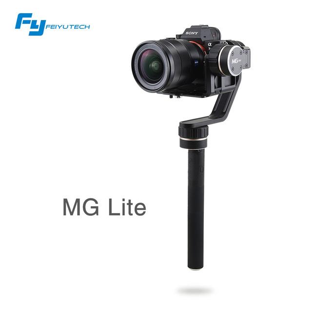 Feiyutech fy-mg lite 3 eixos handheld mirrorless câmera cardan para sony a7 series/panasonnic gh4 fy-mg lite