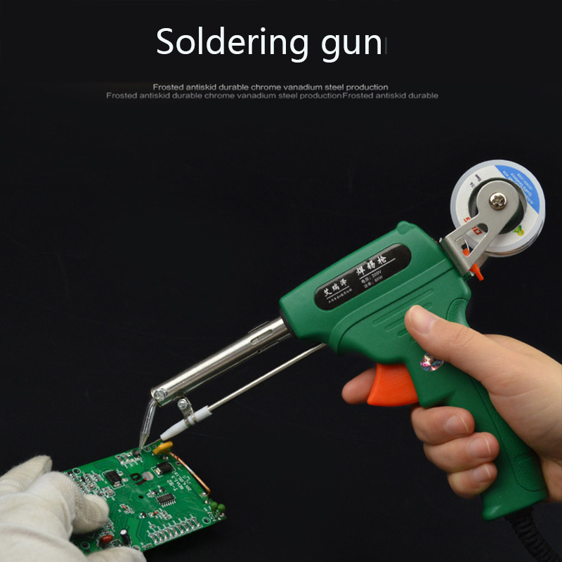 Manual Soldering Gun  Type Automatic Tin Soldering Machine  Thermostatic Electric Soldering  Pen Electronic Welding Tool