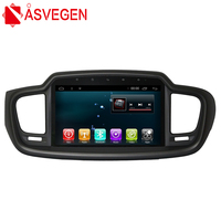 Asvegen Android 6,0 10,2 дюймов автомобиль Авторадио Стерео Bluetooth WI FI мультимедиа gps навигации DVD плеер для KIA Sorento 2015