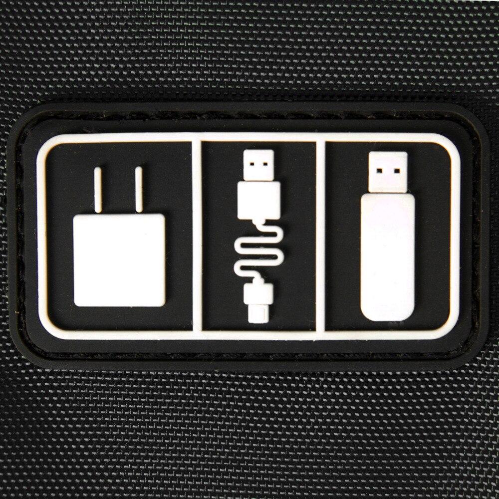 BAGSMART электронный Интимные аксессуары дорожная сумка нейлон мужские дорожный органайзер для дата линия SD карты USB кабель цифровых устройств...