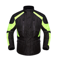 Motorcycle Riding Suit Motorcycle Pulling Coat Anti Falling Suit Waterproof Racing Suit Motorcycle Jacket For Unisex Size M XXL