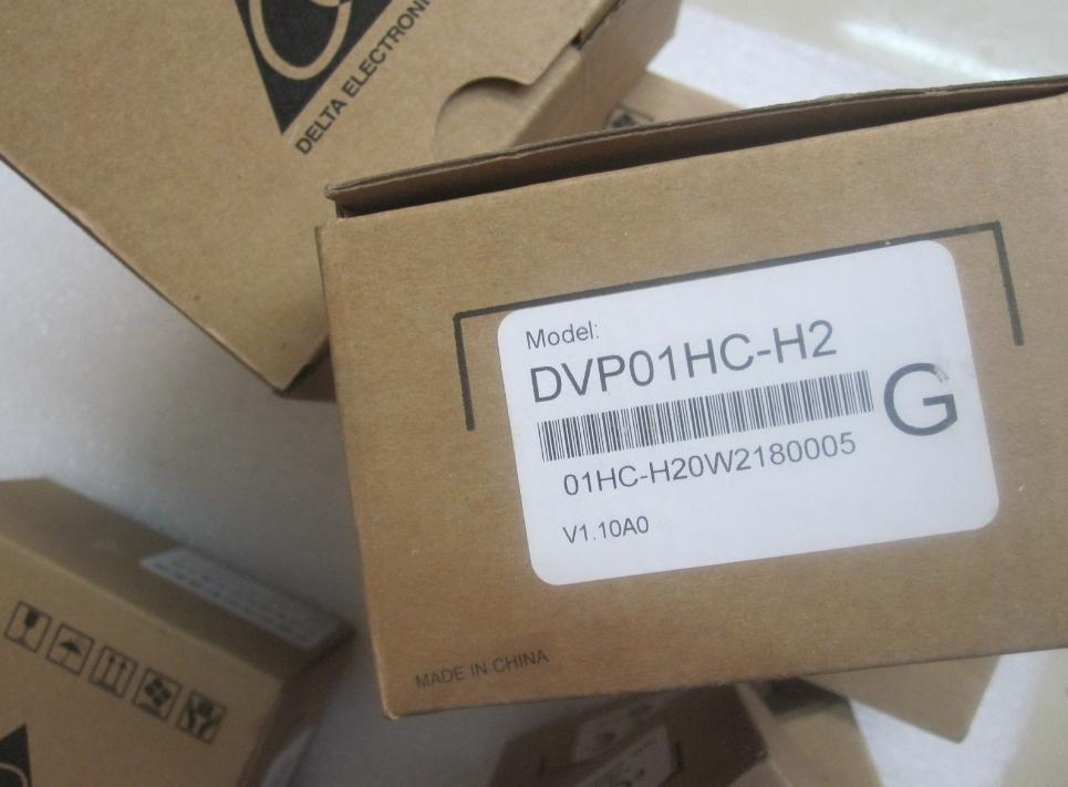 New Original DVP01HC-H2 24VDC PLC 1-channel 200KHz High-Speed Counter Module EH2 series high performance plc xcc 32t e 5 channel ab phase high speed counter 5 channel high speed pulse output ac220v new