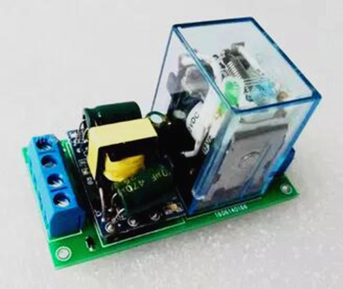 Circuit Automatic Light Switch With Phototransistor Power Switch