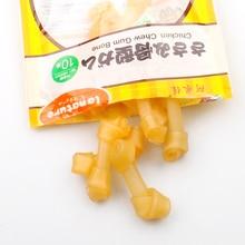 15/30 Pcs/lot Toothbrush Design Pet Dogs Snacks Molar Sticks Chewing Bones For Pet Dog Teeth Molars Cleaning