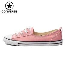 Original New Arrival 2016 Converse  Women's  Skateboarding Shoes Canvas Sneakers