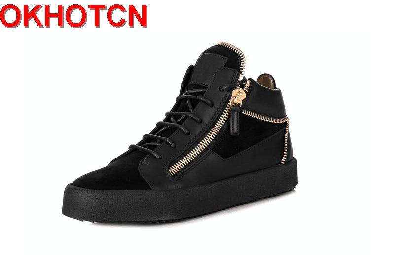Homens Rendas À De Água Calçados Ouro Das Sapatos Para Até Sapatilhas Casuais Sexo Masculino Zipper Preto Formadores Os O Respirável Dos D' Apartamentos Prova Esportivos 1wwXvEqz