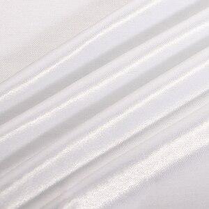 Image 4 - Свадебные Декорации занавески Вечерние Декорации под заказ для сцены Прозрачные шелковые драпированные украшения для сцены вечерние занавески