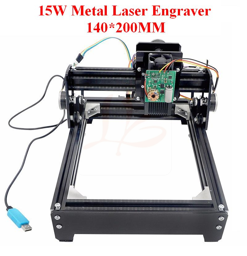 metal engraver marking machine 15W laser 15000MW diy laser engraving machine 14*20cm factory wholesale pricemicro percussion marking machine metal engraver equipment hand held type easy move and operate