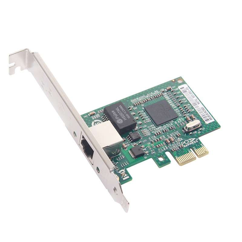10Gtek BCM5751 Chip Gigabit Ethernet PCI-e Desktop Network Card NIC, - Kommunikationsutrustning - Foto 2