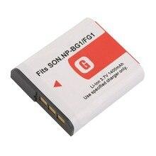 Recarregável com Caso para Sony Nova 3.7 V 1400 MAH Substituição Bateria Li-ion Np-bg1 e fg1 Câmera