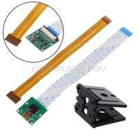 Accesorios de placa de demostración Raspberry Pi 3 Modelo B + módulo de cámara + Cable de 15cm + soporte de cámara para RPI Zero
