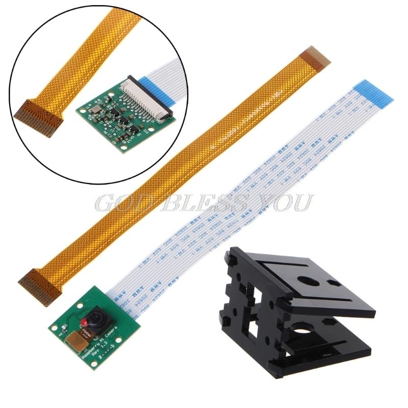Demo Board Accessories Raspberry Pi 3 Model B+ Camera Module +15cm Cable+Camera Bracket For RPI Zero
