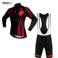 WOSAWE Cycling Jersey Sets China 2017 Pro Tour Bicycle Shirts Mountain Bike Maillot Ciclismo Cuissard Cycliste