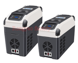 Compressor geladeira carro DC 12V24V RY-YT-E-16P congelador congelador de refrigeração dual-uso frigorífico
