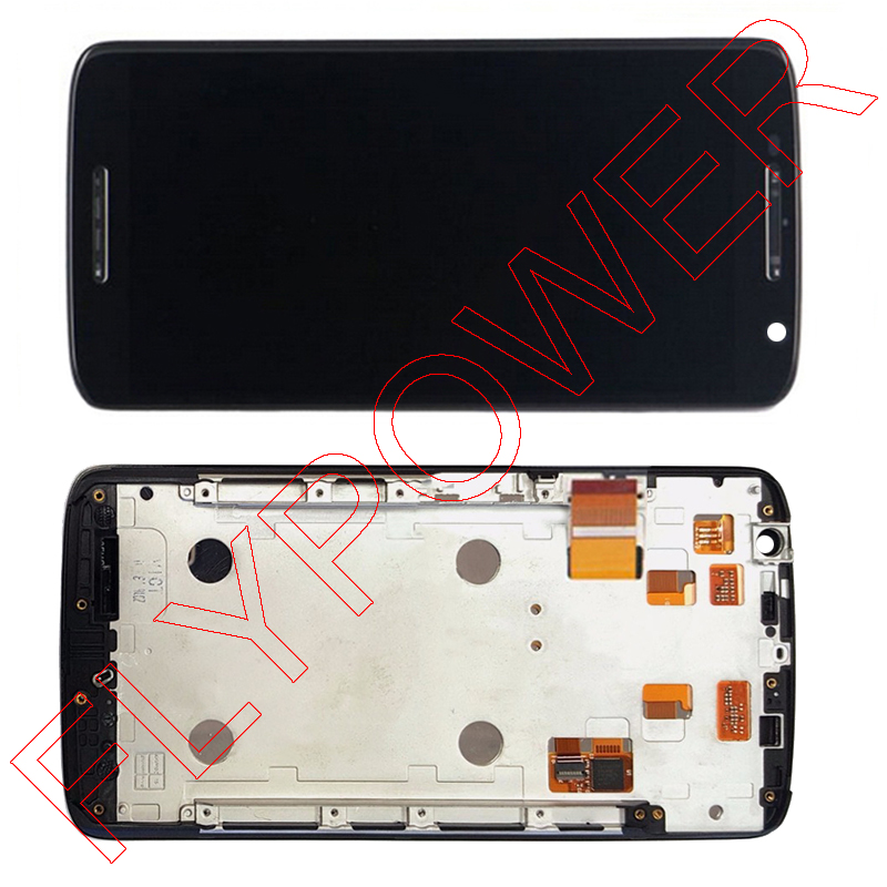 ФОТО For Motorola For Moto X Play For moto x3 XT1562 XT1563 XT1570 LCD Screen Display with Touch Screen Digitizer + Frame Assembly
