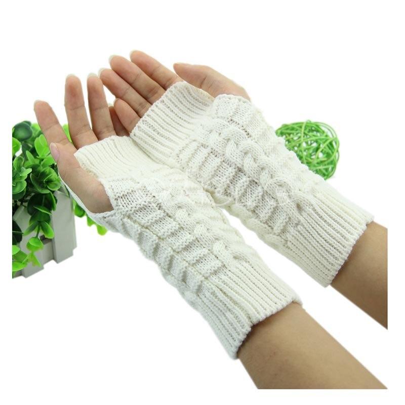 Diezgan stilīgs ziemas roku roku tamborēšanas adīšanas vilnas - Apģērba piederumi