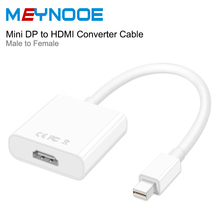 Mini Displayport to HDMI Thunder Mini DP to HDMI Adapter Displayport HDMI 4K Digital Audio Converter HDMI 2.0 Extender Converter