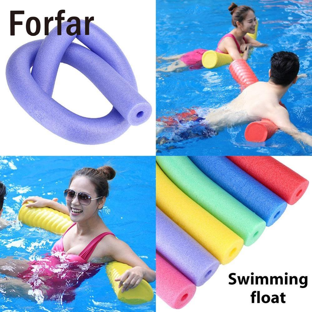 Forfar swimming pool flexible seat noodle tube hollow water floating adult aid tools china