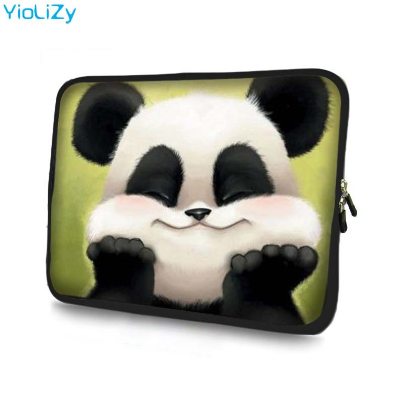 Panda Laptop Bag Tablet Case Notebook Sleeve 7 9.7 11.6 13.3 14 15.6 17 17.3 Protective Case For DELL Asus HP Acer NS-151128