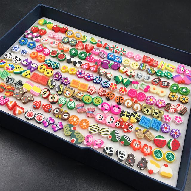 100 pair random styles earrings (Chosen for you)
