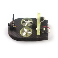 New Tiny Whoover TW65 Mini FPV Racing Hovercraft Boat Drift Car Model with Integrated Frsky Receiver OSD LED DIY Racer
