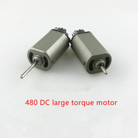 2pcs Double ball bearing long / short shaft 480 DC motor model motor 7.2V16000 turn power tools micro electric drill