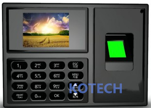 A8 2 4 inch Biometric Fingerprint Time Attendance with Fingerprint